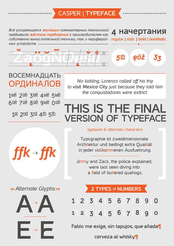 Casper free font