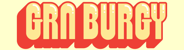 GRN Burgy free font