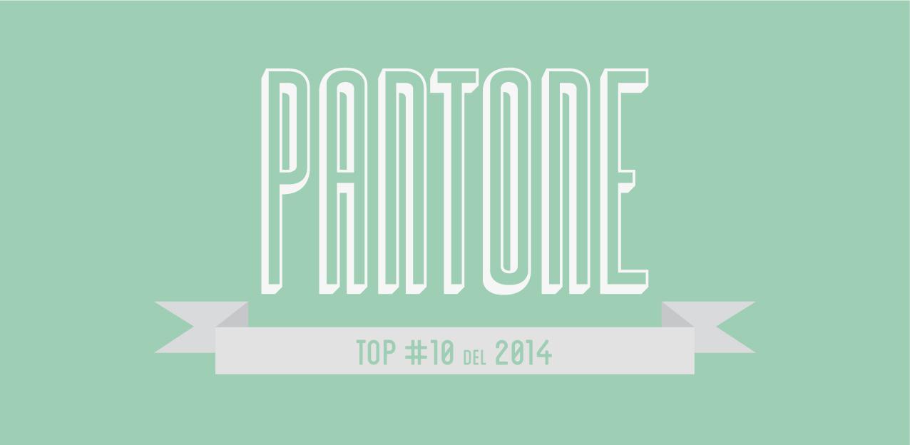 top 10 colores Pantone